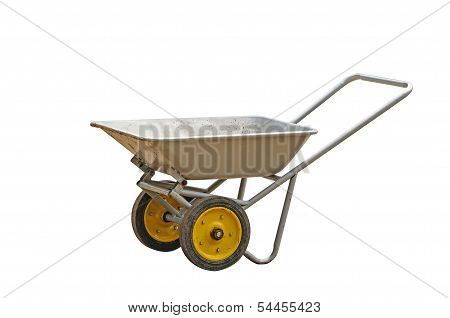 Metal Wheelbarrow Cart
