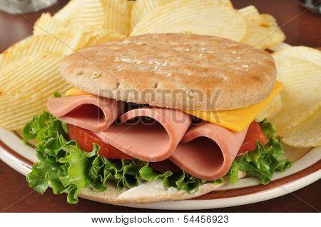Baloney Sandwich