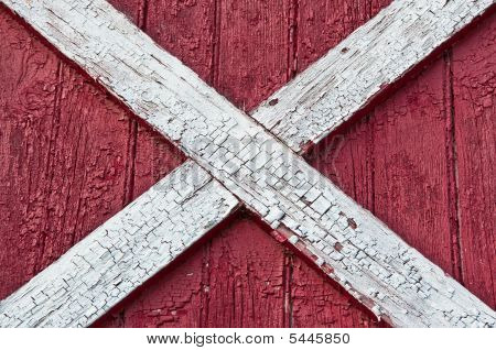 Red Barn Wood Surface