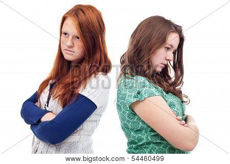 Teenagers Conflict