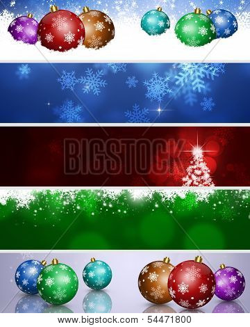 Xmas Winter Banners