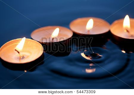 Candles On Water