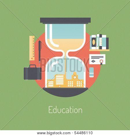 Ilustración educativa Poster
