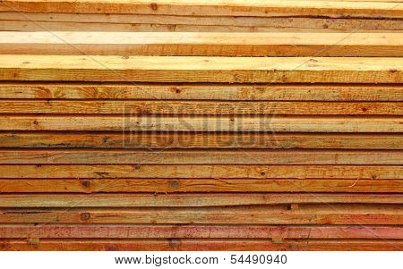 Unplaned Thick Planks
