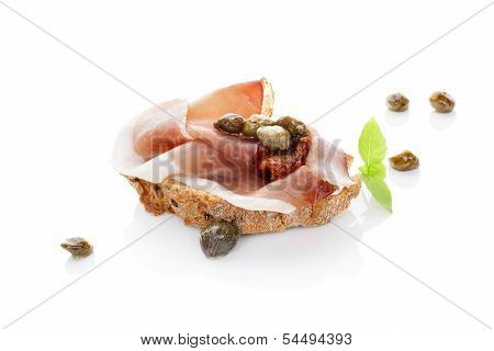 Fine Eating. Luxurious Canape.