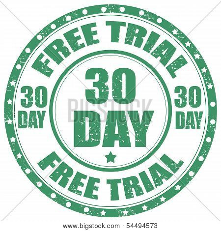 Free Trial-stamp