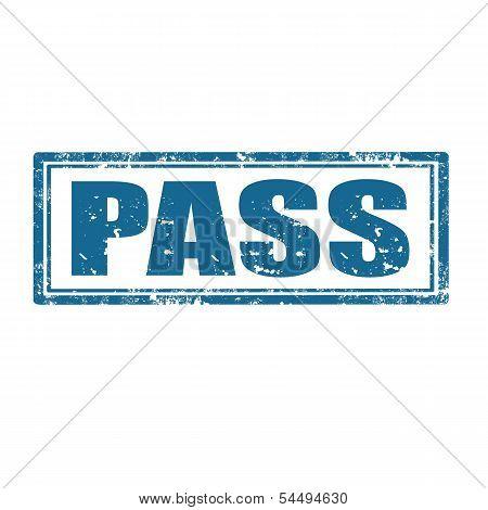 Pass-stamp