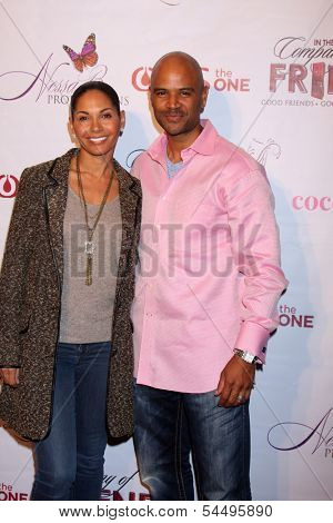 LOS ANGELES - NOV 21:  Salli Richardson Whitfield, Dondre T. Whitfield at the