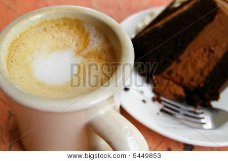 Cake And Coffee