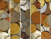 picture of copper coins  - The Money collage - JPG