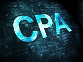 pic of cpa  - Business concept - JPG