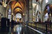 image of church interior  - VALENCIA SPAIN  - JPG