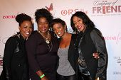 LOS ANGELES - NOV 21:  Shanola Hampton, Loretta Devine, Vanessa Bell Calloway, Robi Reed at the
