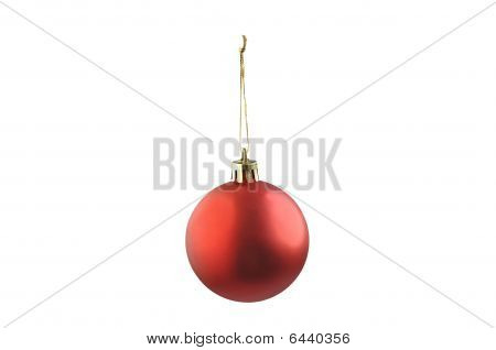 Christmas Red Ball.