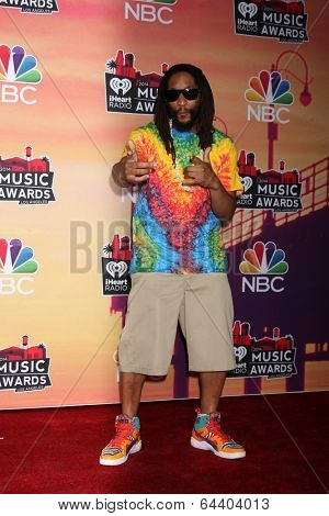 LOS ANGELES - MAY 1:  Lil Jon at the 1st iHeartRadio Music Awards Press Room at Shrine Auditorium on May 1, 2014 in Los Angeles, CA