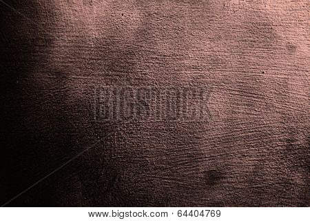 Closeup Grunge Red Claret Metal Plate As Background Texture