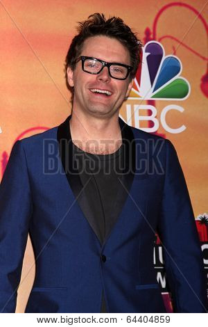 LOS ANGELES - MAY 1:  Bobby Bones at the 1st iHeartRadio Music Awards Press Room at Shrine Auditorium on May 1, 2014 in Los Angeles, CA
