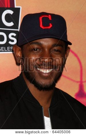 LOS ANGELES - MAY 1:  Kendrick Lamar at the 1st iHeartRadio Music Awards Press Room at Shrine Auditorium on May 1, 2014 in Los Angeles, CA