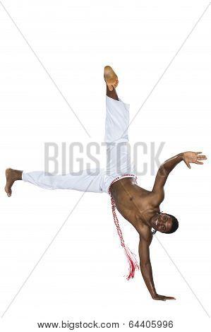 Capoeira, Brazilian Man, white pants