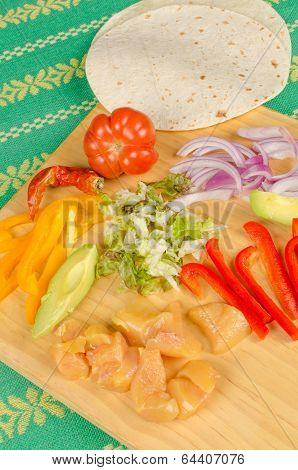 Fajita Ingredients