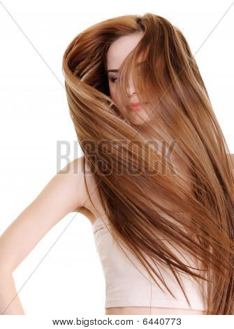 Beauty And Creative Straight Long Hairs
