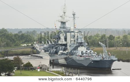 Schlachtschiff uss North carolina