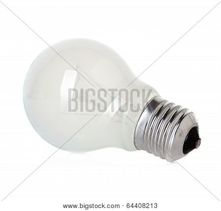 Isolated Mate Light Bulb