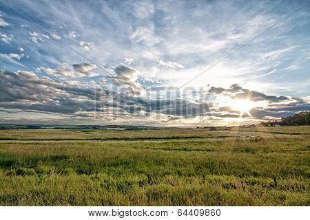 Dusk on the Prairie
