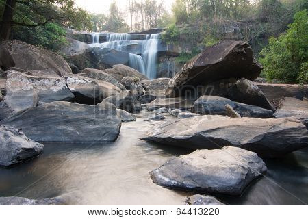Waterfall In Na Haeo, Loei, Thailand