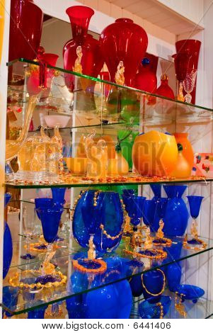 Murano (venetian) Glass In Venice