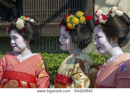 Three Geishas