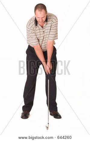Golfer Iron