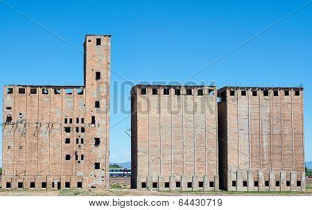Old Ruins Of Buildings