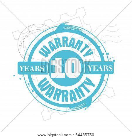 Warranty 10 years