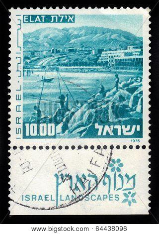 View Of Elat, Red Sea, Israel