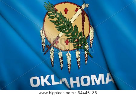 Flag Of Oklahoma (usa)