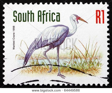 Postage Stamp South Africa 1998 Wattled Crane