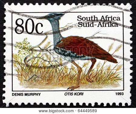 Postage Stamp South Africa 1993 Kori Bustard, Bird
