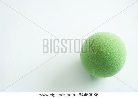 Green Stress Ball Isolated