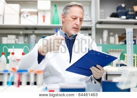 Scientist working in a laboratory