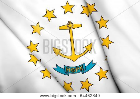 Flag Of Rhode Island (usa)