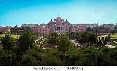 The Beautiful Temple In Hindu Style
