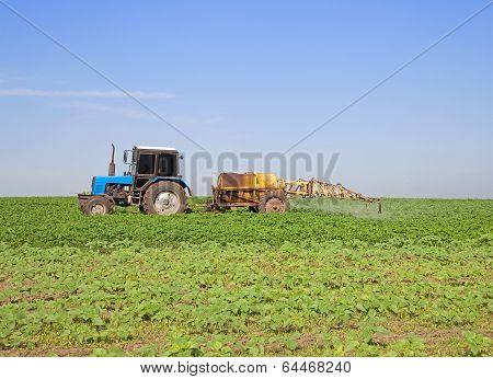 Soybean Spraying