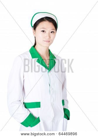 Female Nurse Portrait