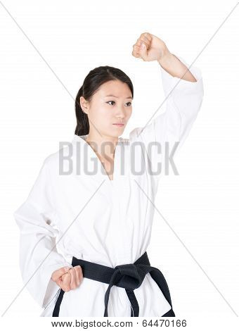 Female Taekwondo Athletes