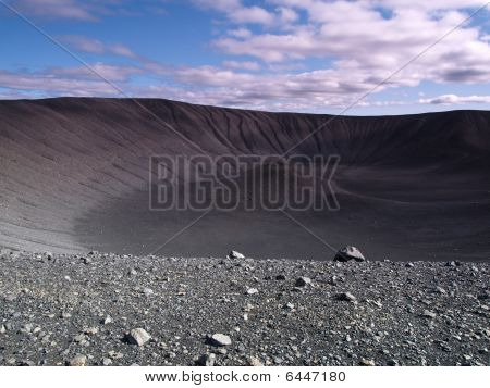 Hverfjall Crater, Iceland