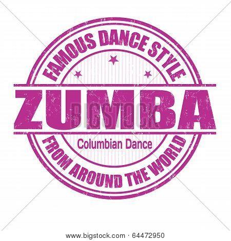 Zumba Stamp