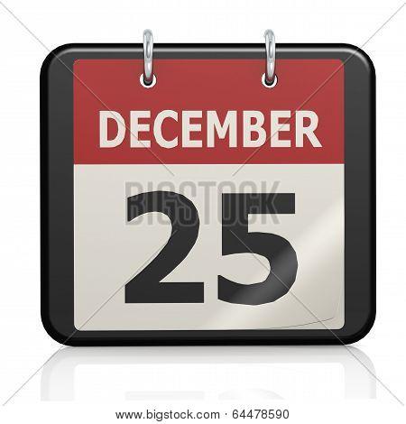 December 25, Christmas calander