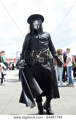 Comicon Naples Italy 2014