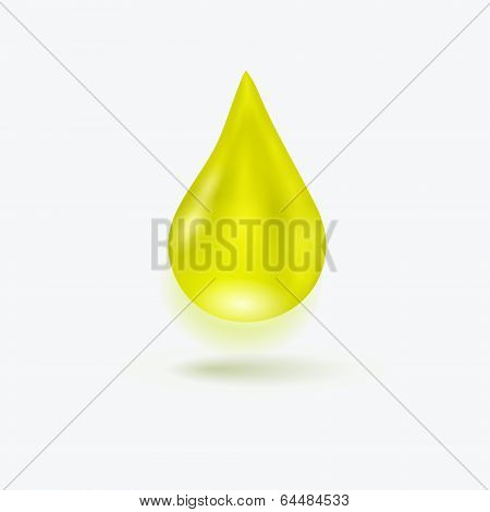 Realistic Drop Of Oil